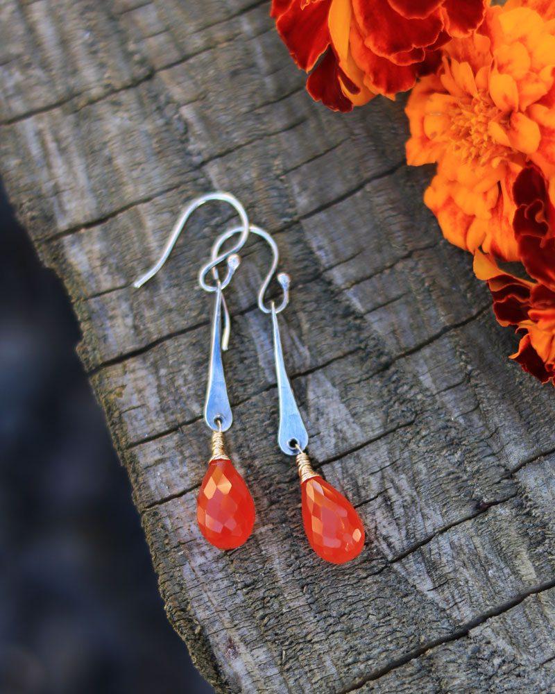 twisted-spike-earrings-cornelian-2