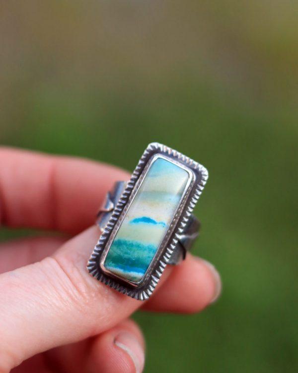 shark-ring-jewelry-blue-opal-wood