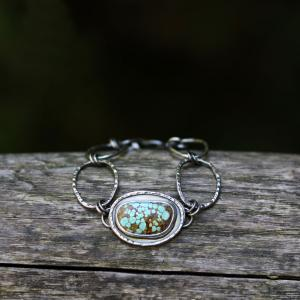 turquoise-bracelet-sterling-silver-artisan-jewelry